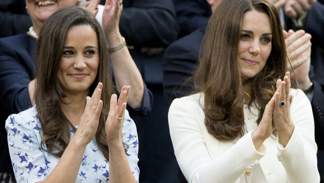 Pippa Middleton und ihre Schwester Kate (Bild: Viennareport)