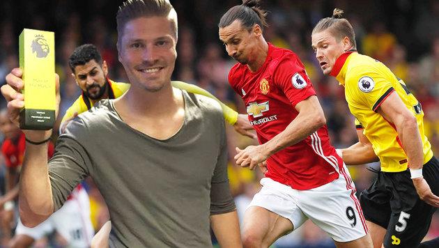 """""""Ibra"""" abmontiert! Pr�dl """"Man of the Match"""" (Bild: AFP, Facebook.com)"""