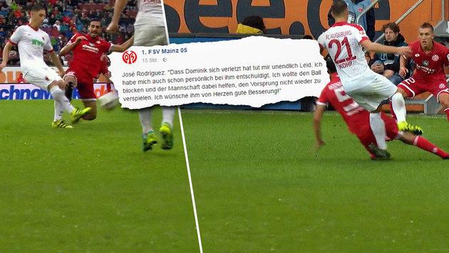 Mainz-Rüpel entschuldigt sich nach Horror-Attacke (Bild: SKY DE)
