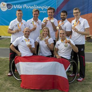 Paralympics beendet: 9 Medaillen f�r �sterreich (Bild: APA/�PC/FRANZ BALDAUF)