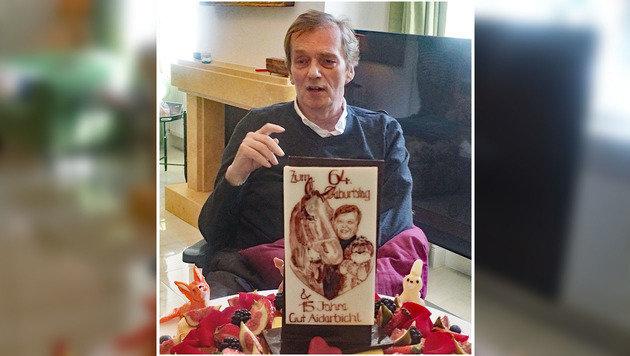 Am 25. April feierte Michael Aufhauser seinen 64. Geburtstag. (Bild: Gut Aiderbichl)