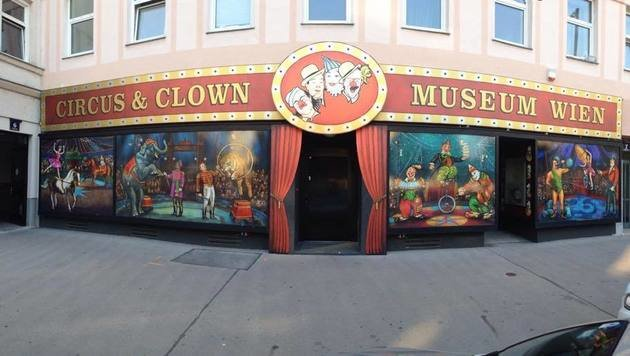 """""""Das sind die skurrilsten Museen der Stadt (Bild: facebook.com/Circus-Clown-Museum-Vienna)"""""""