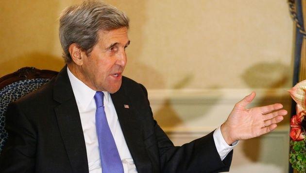 US-Außenminister Kerry wird seinen russischen Kollegen Lawrow in New York treffen. (Bild: APA/AFP/KENA BETANCUR)
