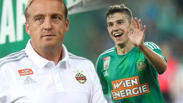 """Büskens lobt Szántó: """"Hat uns noch nie enttäuscht"""" (Bild: GEPA)"""