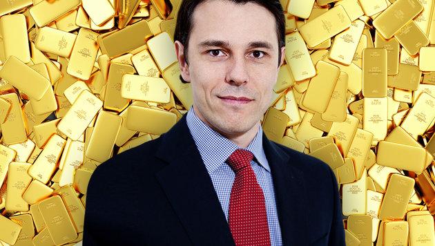 Edelmetall-Experte Rudolf Brenner (Bild: Kronen Zeitung, thinkstockphotos.de)