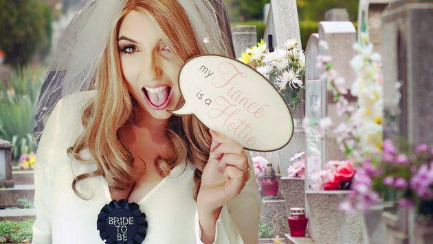 Junge Britin stirbt nur einen Tag vor Hochzeit (Bild: facebook.com/insidemyheart, thinkstockphotos.de (Symbolbild))