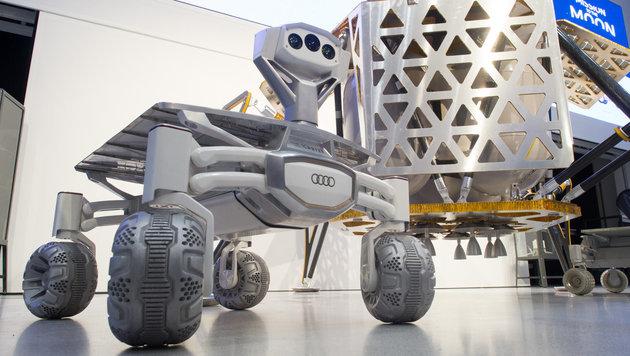 Österreicher wollen auf dem Mond Autofahren (Bild: APA/dpa/Klaus-Dietmar Gabbert)