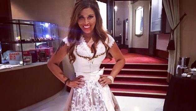 Bei dieser Taille von Patricia Blanco stimmt doch was nicht... (Bild: facebook.com/p.blanco.fanpage)