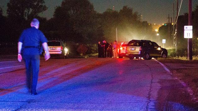 USA: Polizistin erschießt unbewaffneten Schwarzen (Bild: Associated Press)