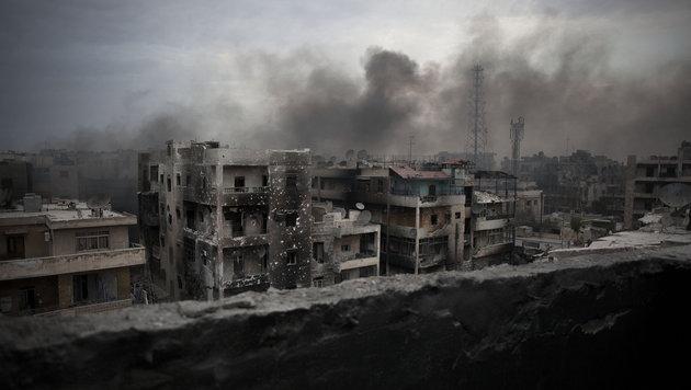Aleppo kommt weiterhin nicht zur Ruhe. (Bild: ASSOCIATED PRESS)