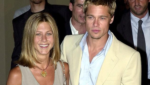 Jennifer Aniston und Brad Pitt waren von 2000 bis 2005 verheiratet. (Bild: AP)