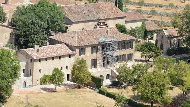 Chateau Miraval in Südfrankreich (Bild: Viennareport)