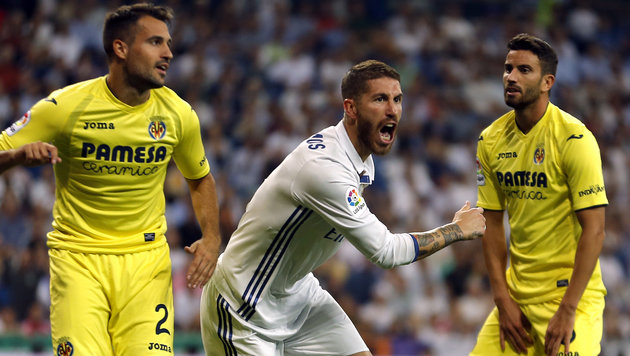 1:1! Real Madrid verpasst Rekord gegen Villarreal (Bild: Associated Press)