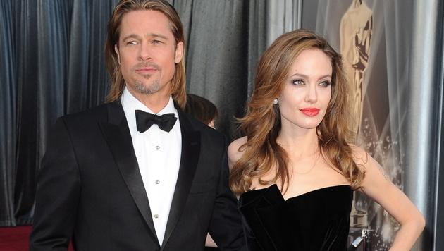 Angelina Jolie hat die Scheidung von Brad Pitt eingereicht. (Bild: EPA)