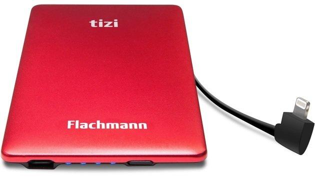 Flachmann Ultra: Strom-Schutzengel für das iPhone (Bild: Tizi)
