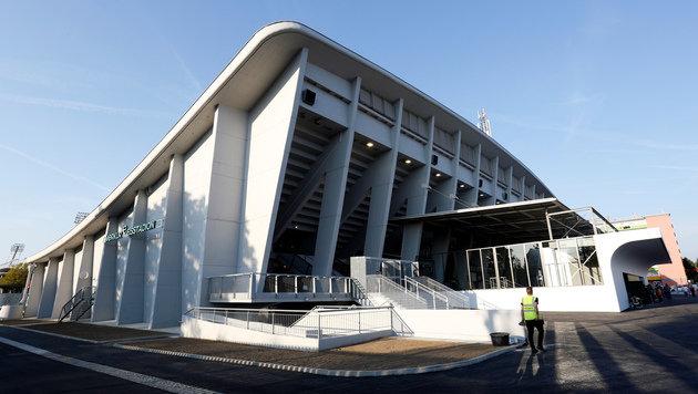 99ers eröffnen neue Halle gegen Haie und mit Opus! (Bild: GEPA)