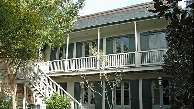 Das Haus von Angelina Jolie und Brad Pitt in New Orleans (Bild: Viennareport)