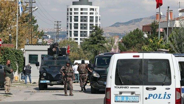 Angriff auf Israels Botschaft in Ankara vereitelt (Bild: AP/Burhan Ozbilici)