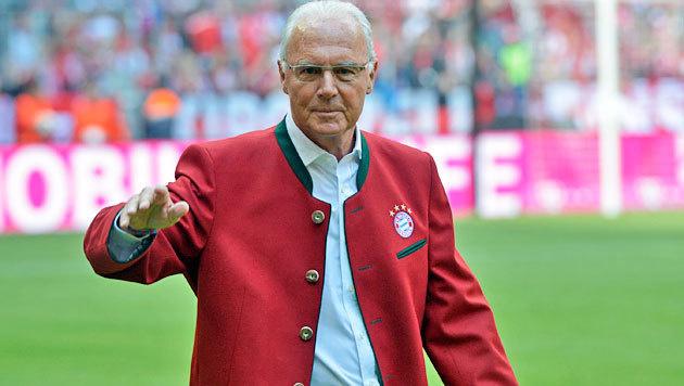 """Beckenbauer für die Deutschen kein """"Kaiser"""" mehr (Bild: GEPA)"""
