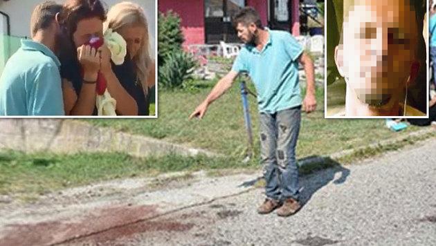 Gastarbeiter sprengt Ex mit Granate die Luft (Bild: Kronen Zeitung)