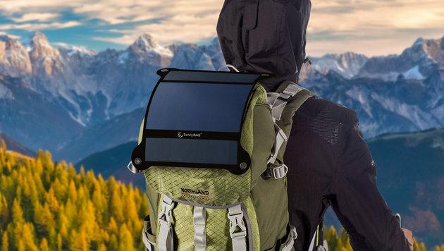 """""""Solarkraftwerk"""" aus Österreich stürmt Kickstarter (Bild: SunnyBAG)"""