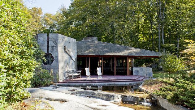 Auf der Insel befindet sich ein Haus des Architekten Frank Lloyd Wright von 1950. (Bild: Viennareport)