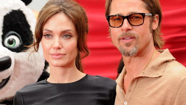 Angelina Jolie und Brad Pitt (Bild: Viennareport)