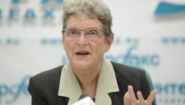 Menschenrechtsaktivistin Swetlana Gannuschkina (Bild: APA/AFP/Natalia Kolesnikova)