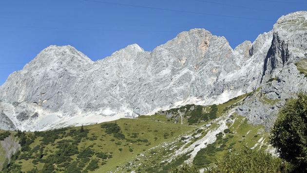 Die Dachstein-Südwand (Bild: APA/BARBARA GINDL)