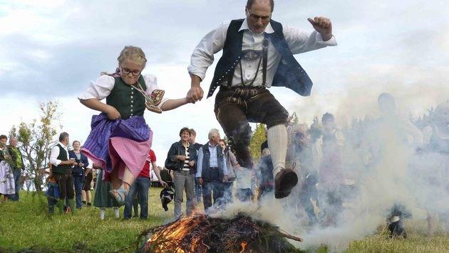 """Die Steiermark """"echt und sunst nix"""" auf Servus TV (Bild: Servus TV)"""