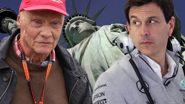 Gibt es bald einen Formel-1-GP in New York? (Bild: APA/AFP/TIMOTHY A. CLARY, GEPA)