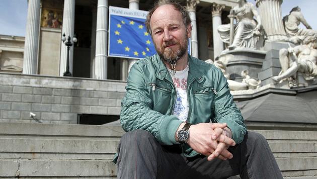 """Roland D�ringer betont: """"Keine Spa�partei!"""" (Bild: Reinhard Holl)"""