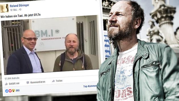 Roland Düringer gründete eigene Partei (Bild: Reinhard Holl , facebook.com)