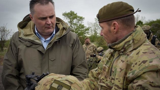 Verteidigungsminister Hans Peter Doskozil (Bild: Bundesheer)