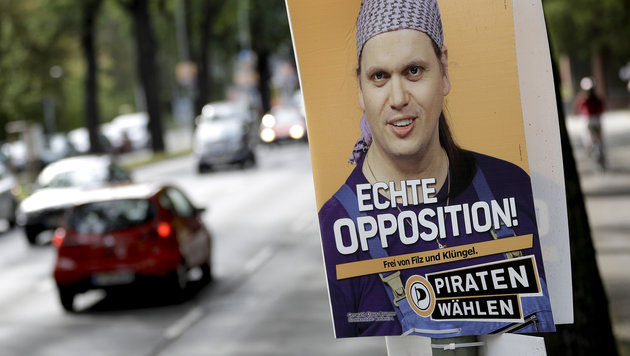 Piraten-Politiker spazierte mit Leiche durch Stadt (Bild: Associated Press)