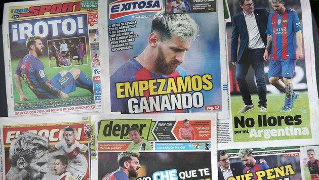 Barcelona steht ohne Messi unter Siegzwang (Bild: AFP or licensors)