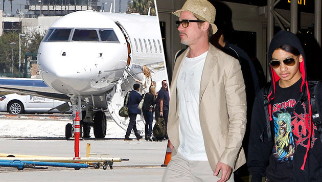 Brad Pitt soll eine heftige Auseinandersetzung mit Sohn Maddox gehabt haben. (Bild: Viennareport)