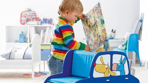 Bunte Helfer gegen das Chaos im Kinderzimmer (Bild: Jako-o)