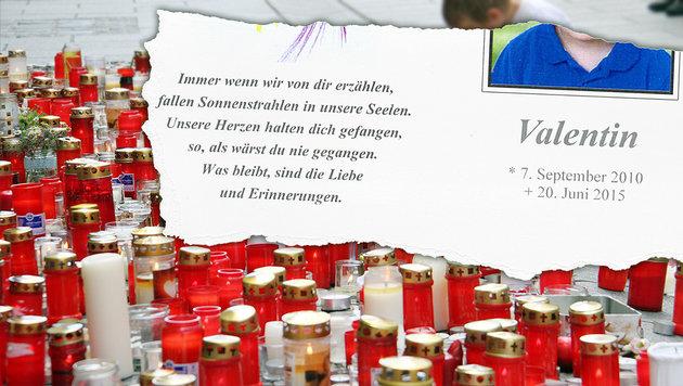 Die Tragödie um den kleinen Valentin (Bild: Christian Jauschowetz, Krone)