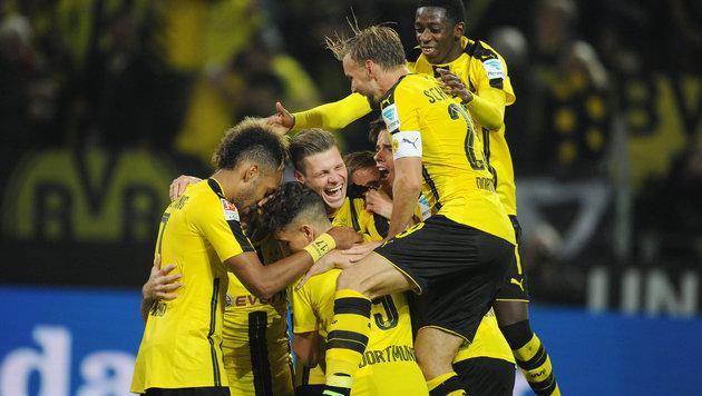 Dortmund bleibt den Bayern auf den  Fersen (Bild: GEPA)