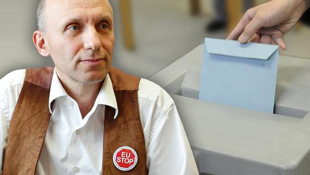 """Für Robert Marschall ist die Wahlanfechtung """"so gut wie sicher"""". (Bild: Reinhard Holl, APA/HERBERT PFARRHOFER)"""