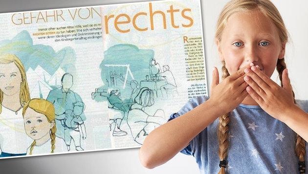 """Eltern von blonden Kindern unter Neonazi-Verdacht (Bild: """"Baby und Familie"""", thinkstockphotos.de (Symbolbild))"""