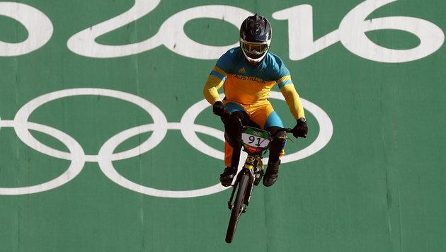 Ex-BMX-Weltmeister nach Sturz teilweise gelähmt (Bild: AP)