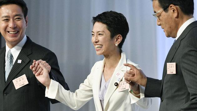 Renho Murata schreibt mit ihrem Aufstieg Geschichte. (Bild: ASSOCIATED PRESS)