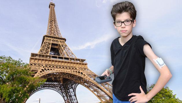 Keine guten Erinnerungen hat der 14-jährige Samuel an seine Reise nach Paris. (Bild: Reinhard Judt, thinkstockphotos.de)