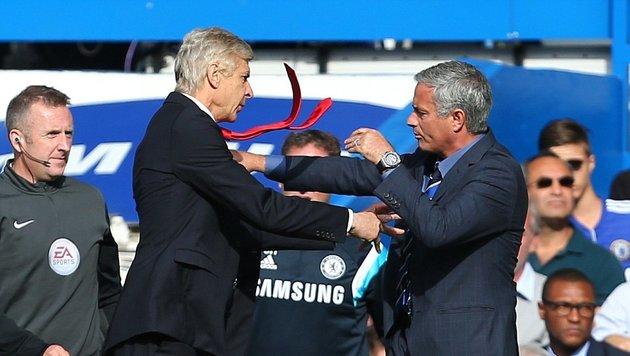 """Mourinho: """"Werde Wenger das Gesicht zertrümmern"""" (Bild: AFP)"""