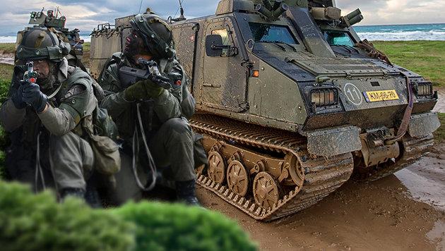 Neue Panzer und Jets: Heer r�stet im Eiltempo auf (Bild: APA/Robert J�ger flickr.com/ARTIGUES (HQ MARCOM))