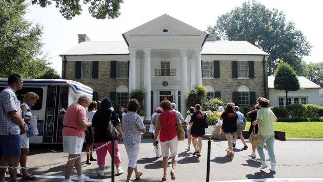 Elvis Presleys berühmtes Anwesen Graceland (Bild: STAN HONDA / AFP / picturedesk.com)
