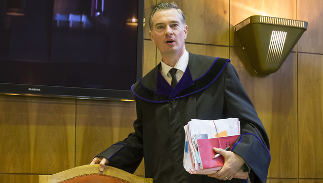 Richter Andreas Rom (Bild: APA/ERWIN SCHERIAU/APA-POOL)
