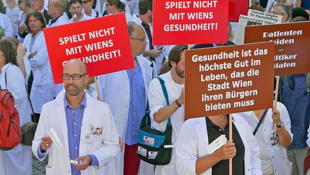 Causa Spitalsärzte: Jetzt Streit um Ambulatorien! (Bild: Gerhard Bartel)